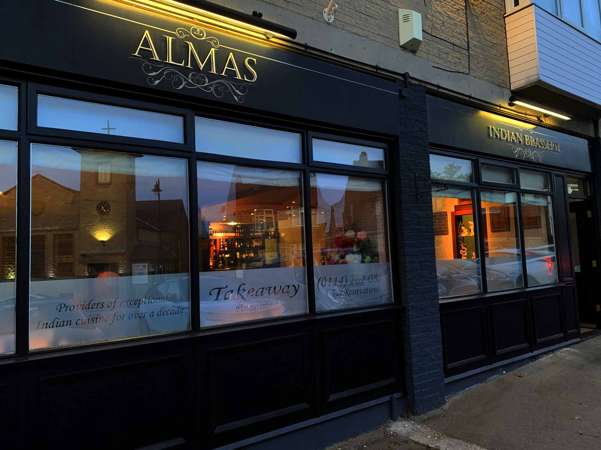 Almas Indian Brasserie